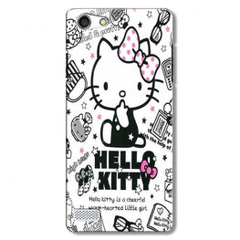 Hello Kitty Mobile Back Case for Oppo Neo 7  (Design - 361)