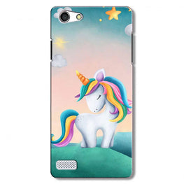 Unicorn Mobile Back Case for Oppo Neo 7  (Design - 366)