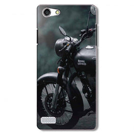 Royal Enfield Mobile Back Case for Oppo Neo 7  (Design - 380)