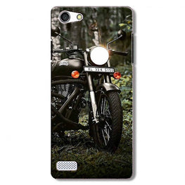 Royal Enfield Mobile Back Case for Oppo Neo 7  (Design - 384)