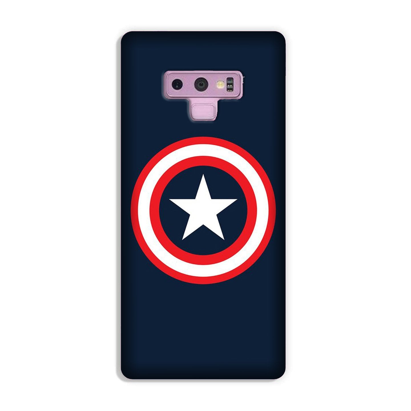 Captain America Case for Galaxy Note 9