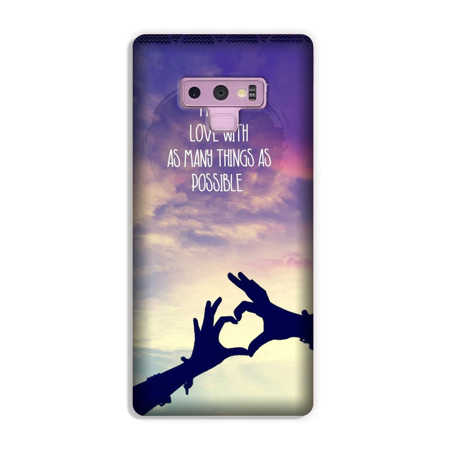 Fall in love Case for Galaxy Note 9