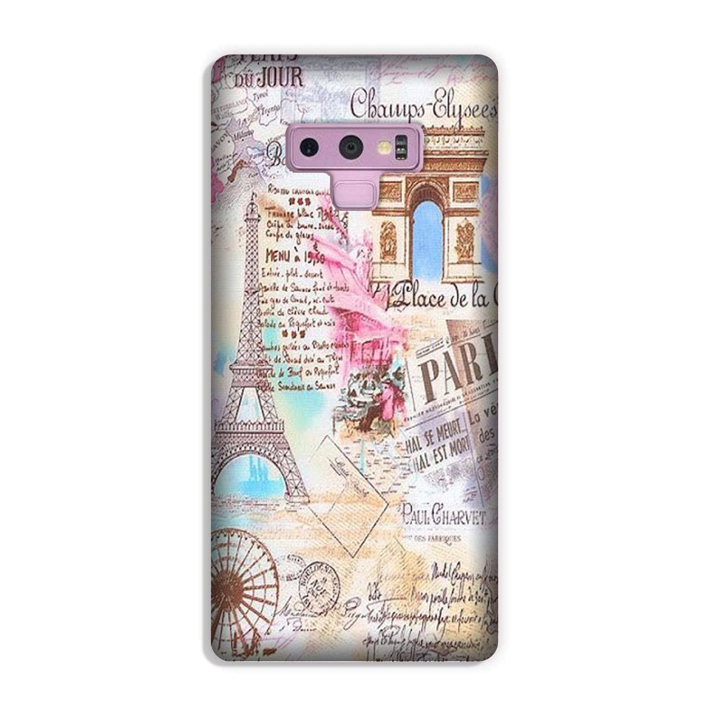 Paris Eiftel Tower Case for Galaxy Note 9