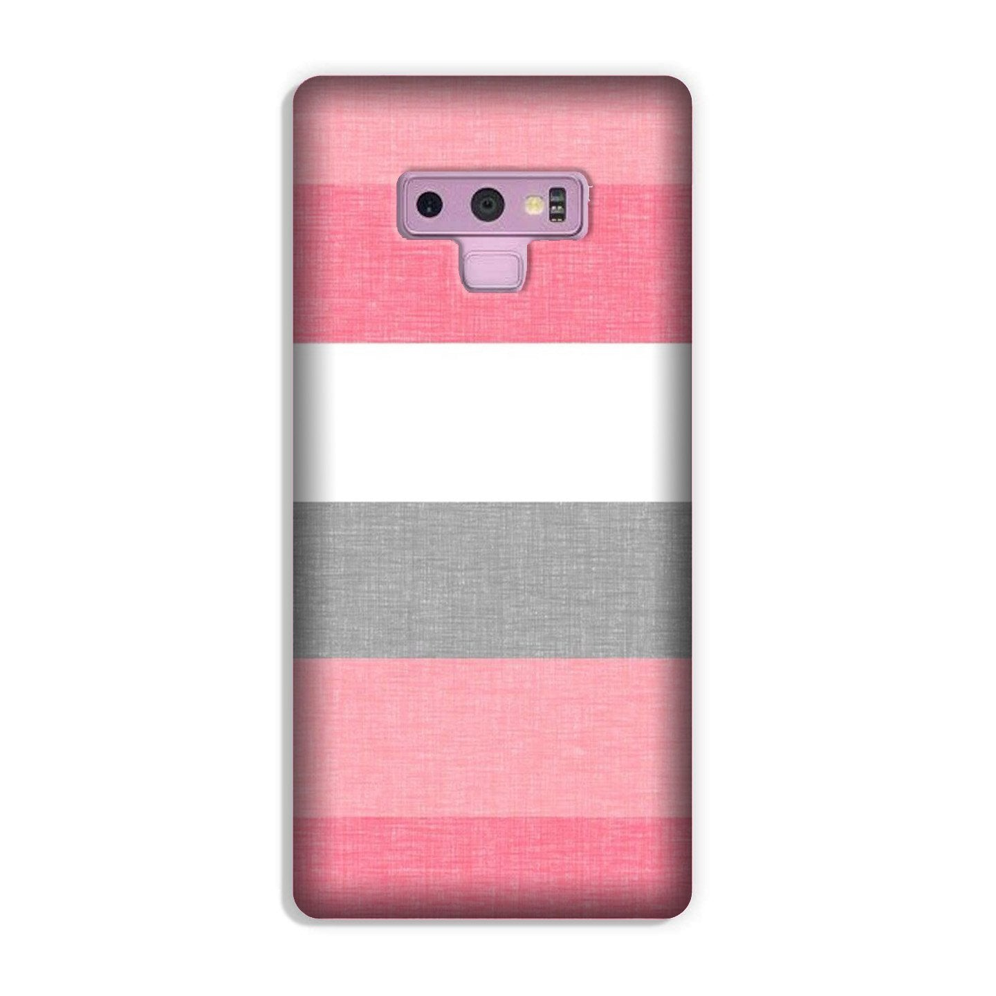 Pink white pattern Case for Galaxy Note 9