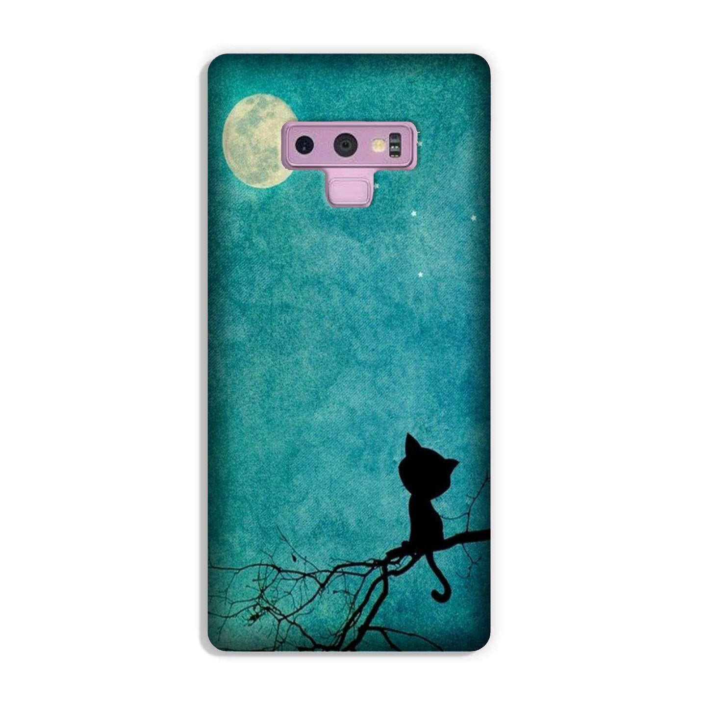 Moon cat Case for Galaxy Note 9