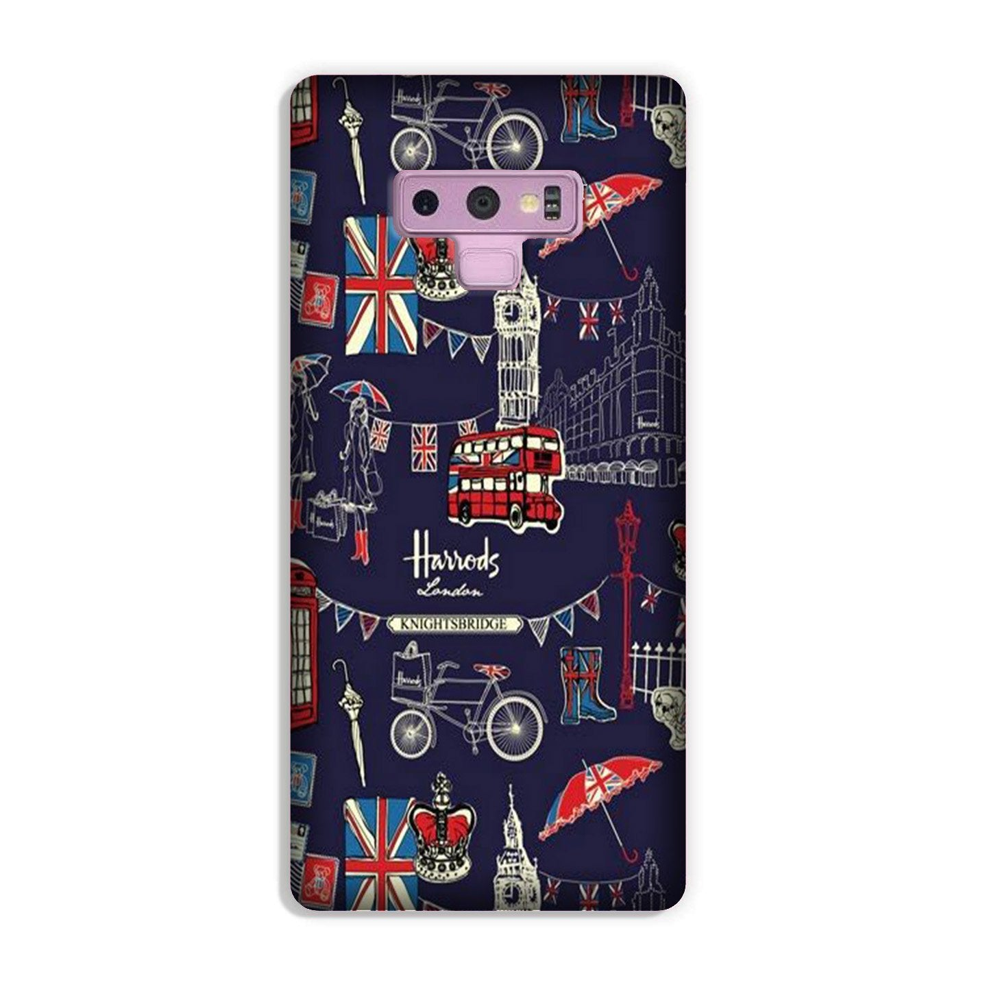 Love London Case for Galaxy Note 9