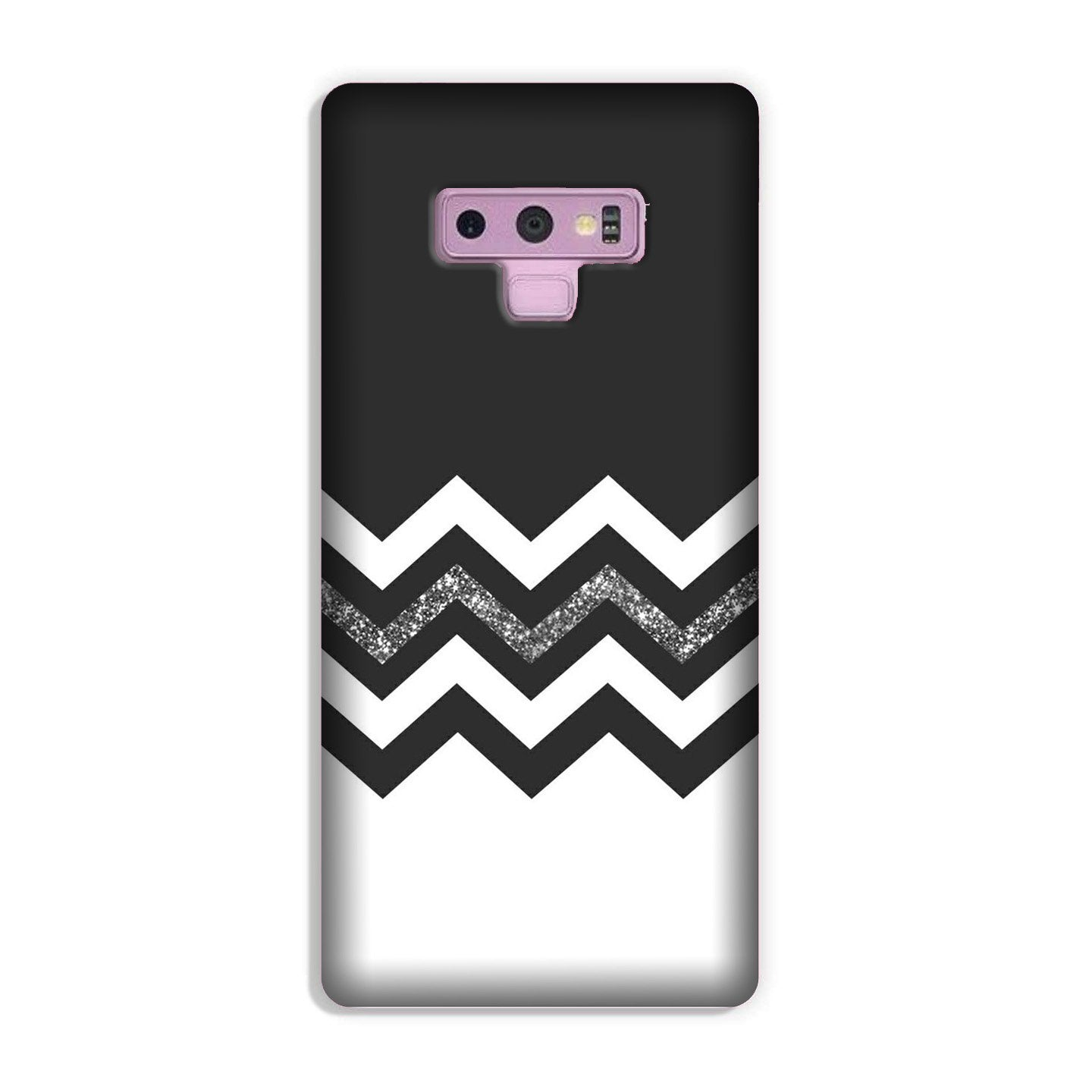 Black white Pattern2Case for Galaxy Note 9