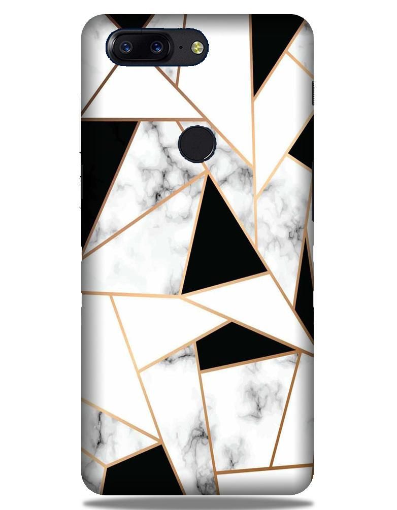Marble Texture Mobile Back Case for OnePlus 5T   (Design - 322)