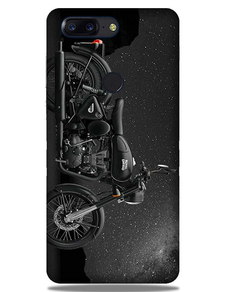 Royal Enfield Mobile Back Case for OnePlus 5T   (Design - 381)