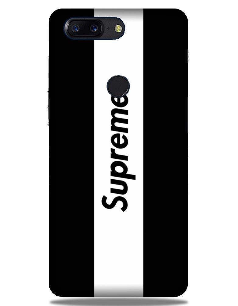 Supreme Mobile Back Case for OnePlus 5T   (Design - 388)