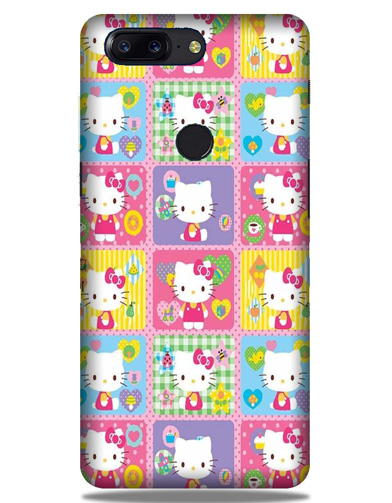 Kitty Mobile Back Case for OnePlus 5T   (Design - 400)