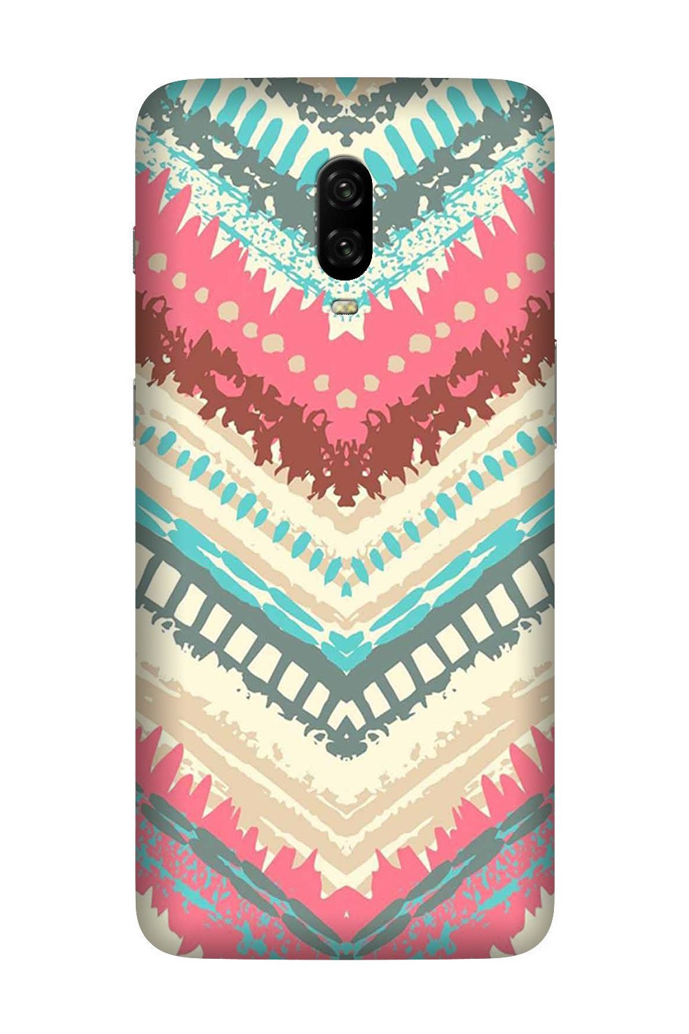Pattern Mobile Back Case for OnePlus 7  (Design - 368)