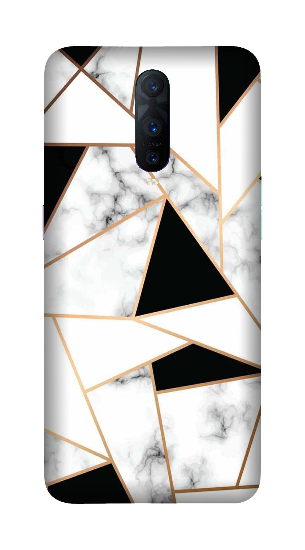 Marble Texture Mobile Back Case for OnePlus 7 Pro (Design - 322)