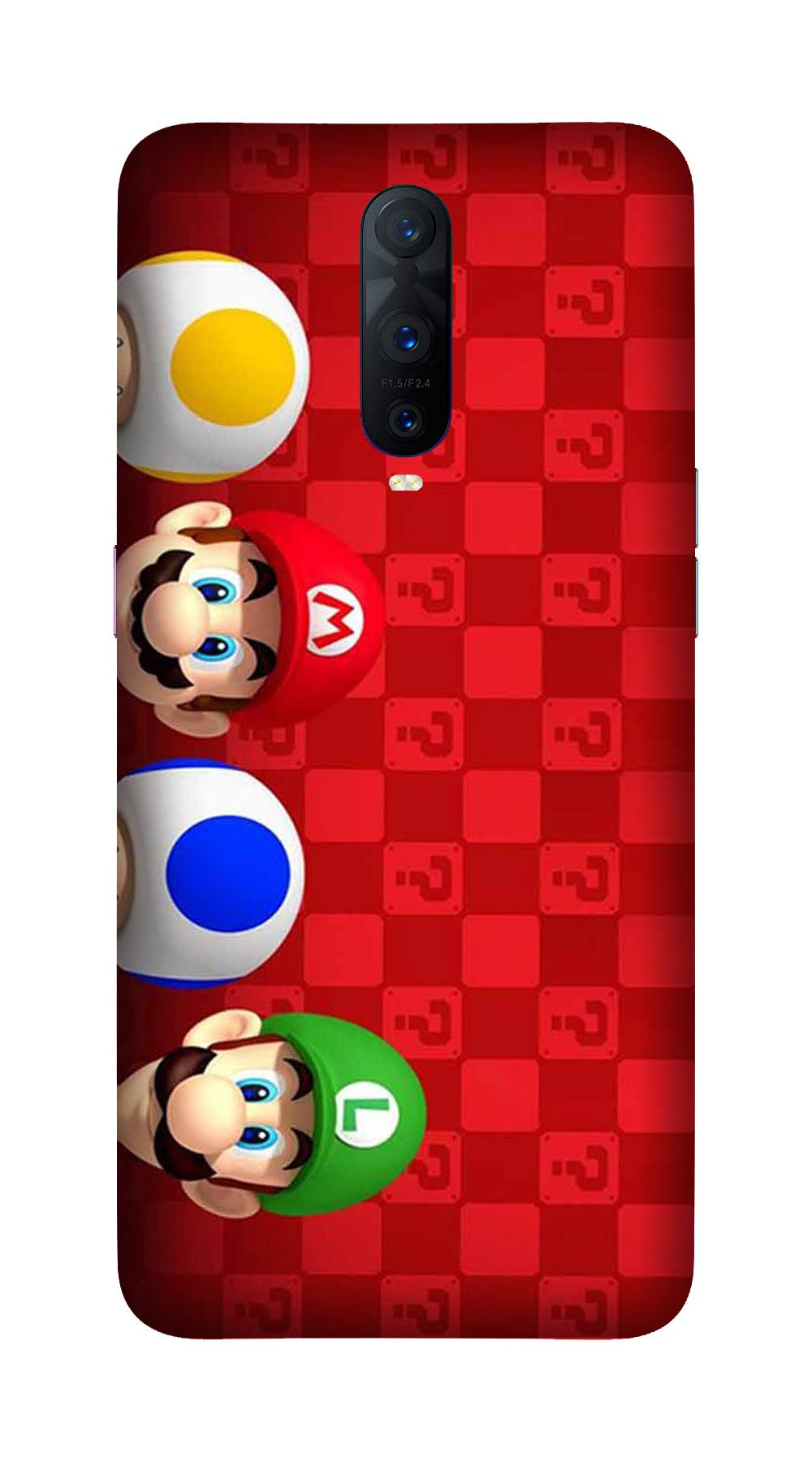 Mario Mobile Back Case for OnePlus 7 Pro (Design - 337)