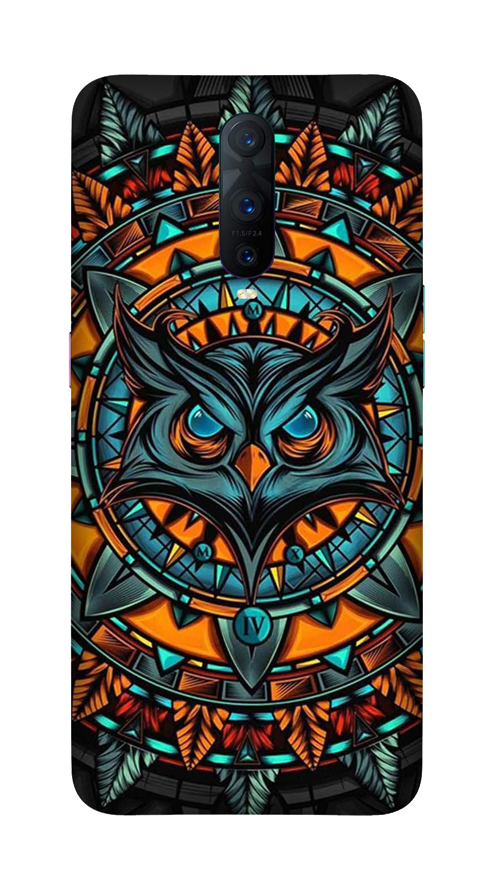 Owl Mobile Back Case for OnePlus 7 Pro (Design - 360)