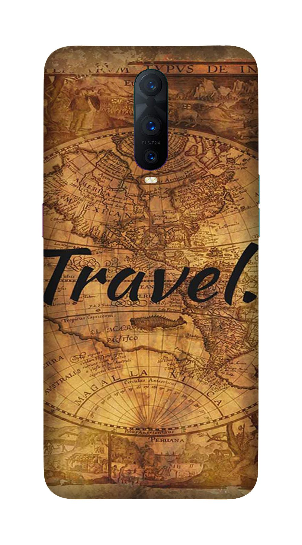 Travel Mobile Back Case for OnePlus 7 Pro (Design - 375)