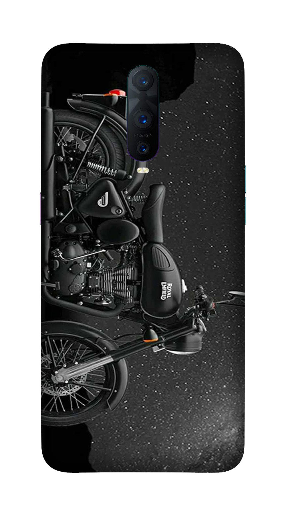 Royal Enfield Mobile Back Case for OnePlus 7 Pro (Design - 381)