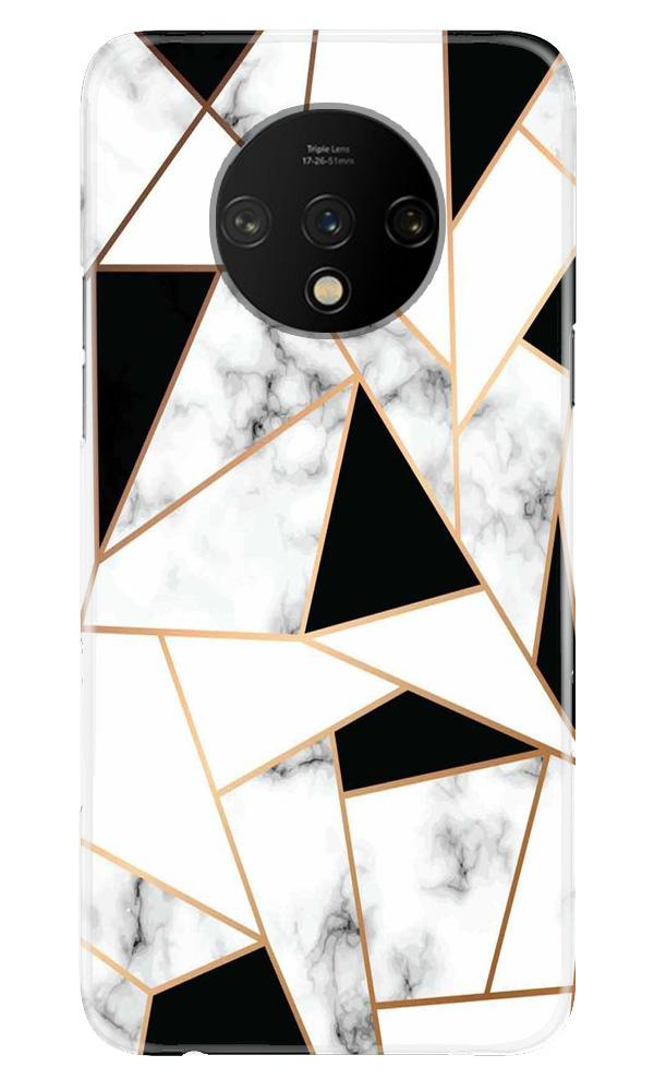 Marble Texture Mobile Back Case for OnePlus 7T  (Design - 322)