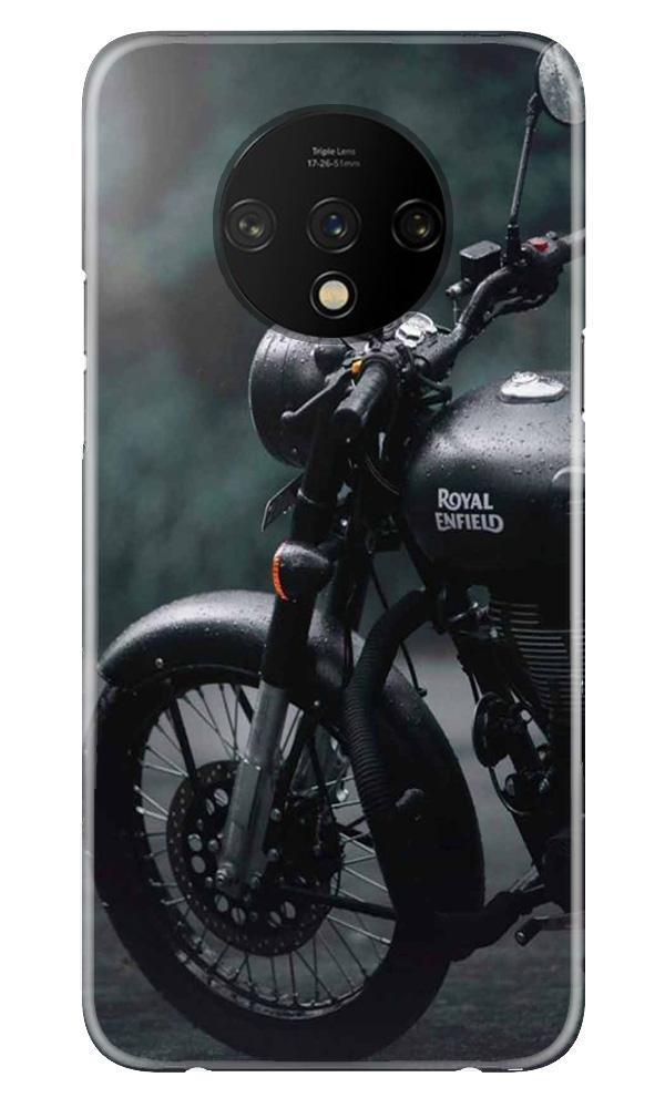 Royal Enfield Mobile Back Case for OnePlus 7T  (Design - 380)