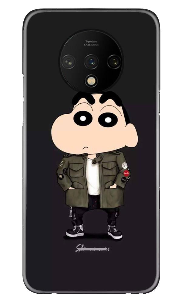 Shin Chan Mobile Back Case for OnePlus 7T  (Design - 391)