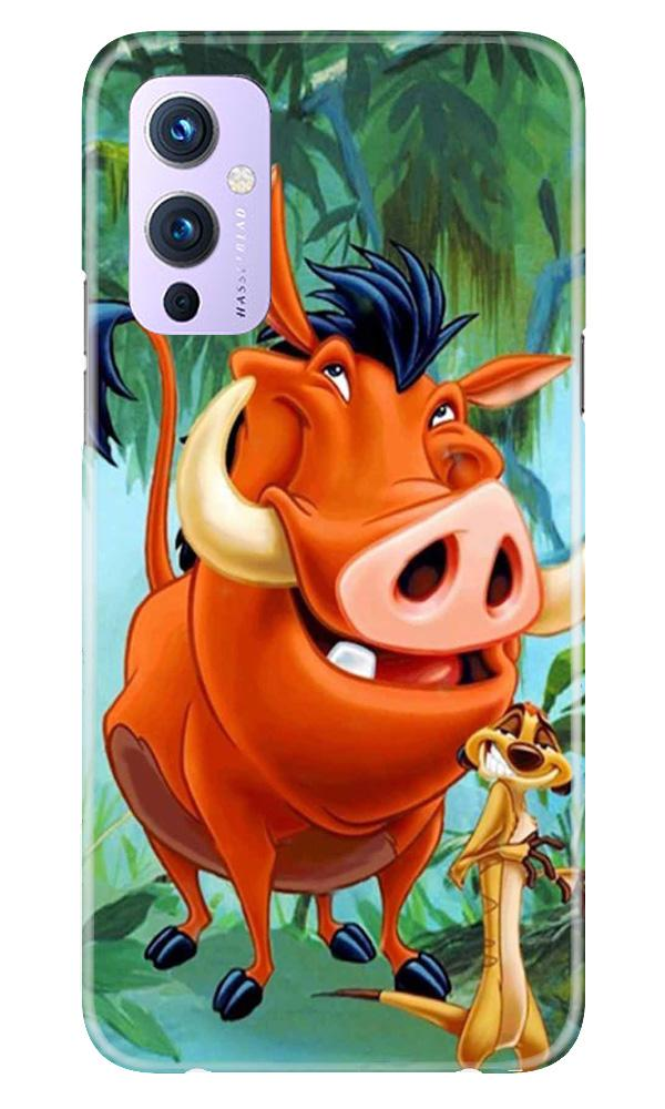 Timon and Pumbaa Mobile Back Case for OnePlus 9 (Design - 305)