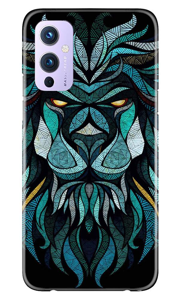 Lion Mobile Back Case for OnePlus 9 (Design - 314)