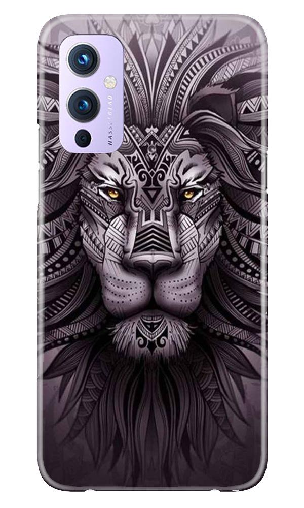 Lion Mobile Back Case for OnePlus 9 (Design - 315)