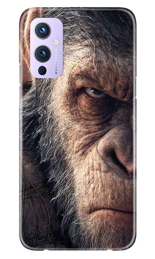 Angry Ape Mobile Back Case for OnePlus 9 (Design - 316)