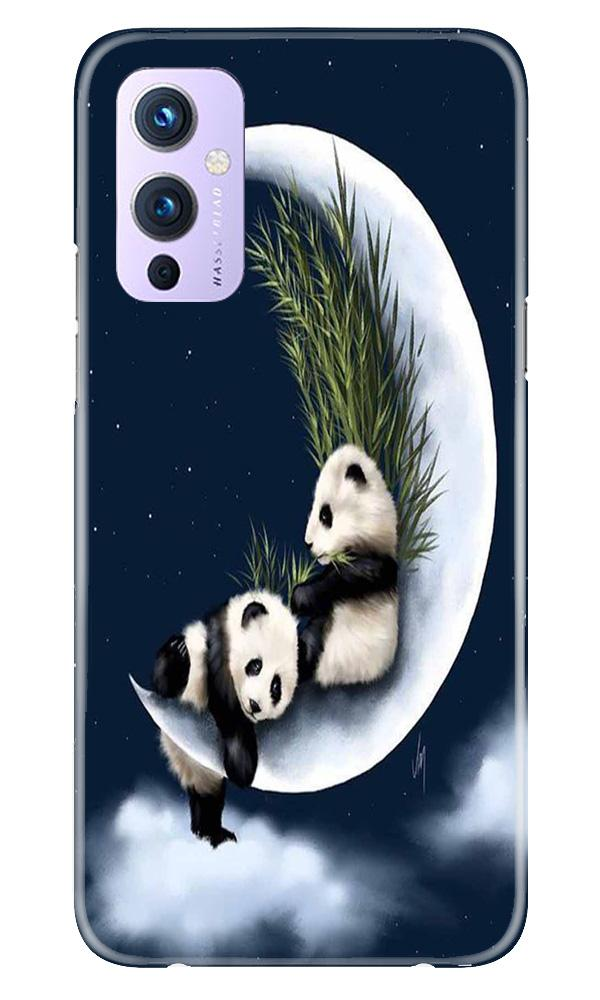 Panda Moon Mobile Back Case for OnePlus 9 (Design - 318)