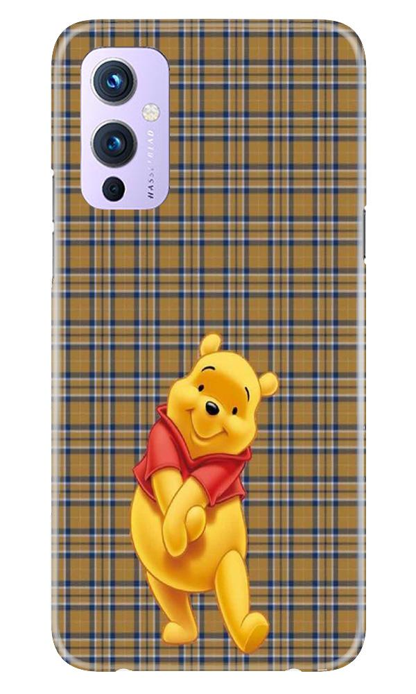 Pooh Mobile Back Case for OnePlus 9 (Design - 321)