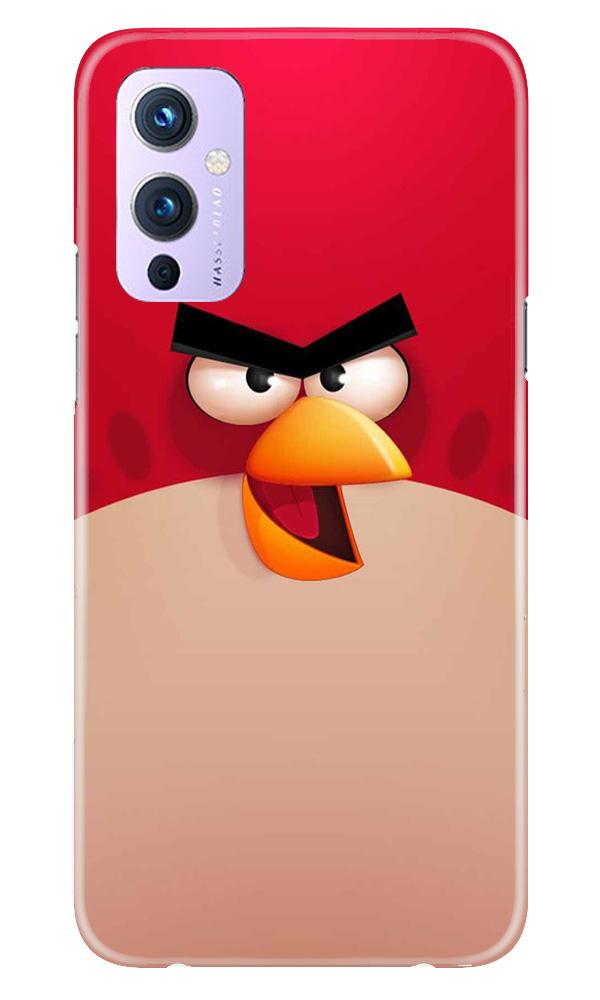 Angry Bird Red Mobile Back Case for OnePlus 9 (Design - 325)