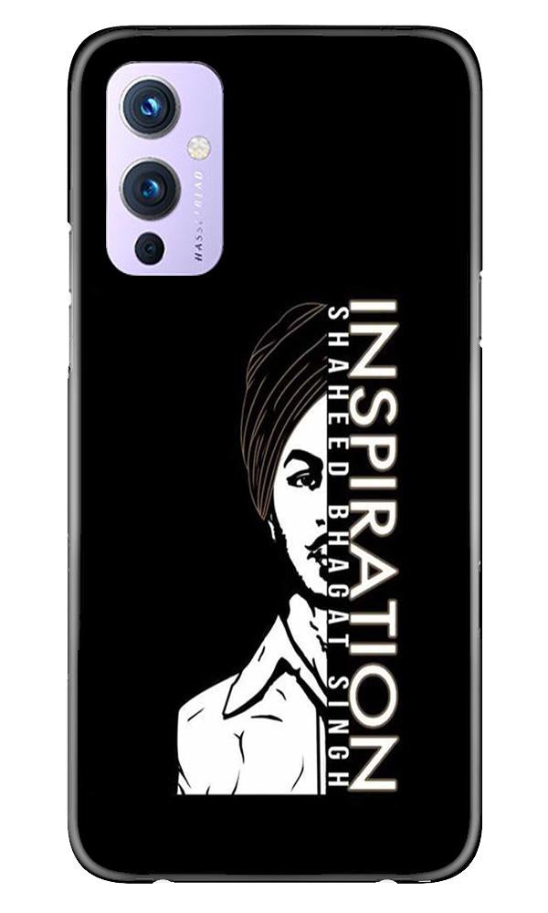 Bhagat Singh Mobile Back Case for OnePlus 9 (Design - 329)