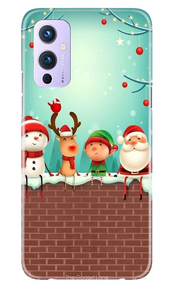 Santa Claus Mobile Back Case for OnePlus 9 (Design - 334)