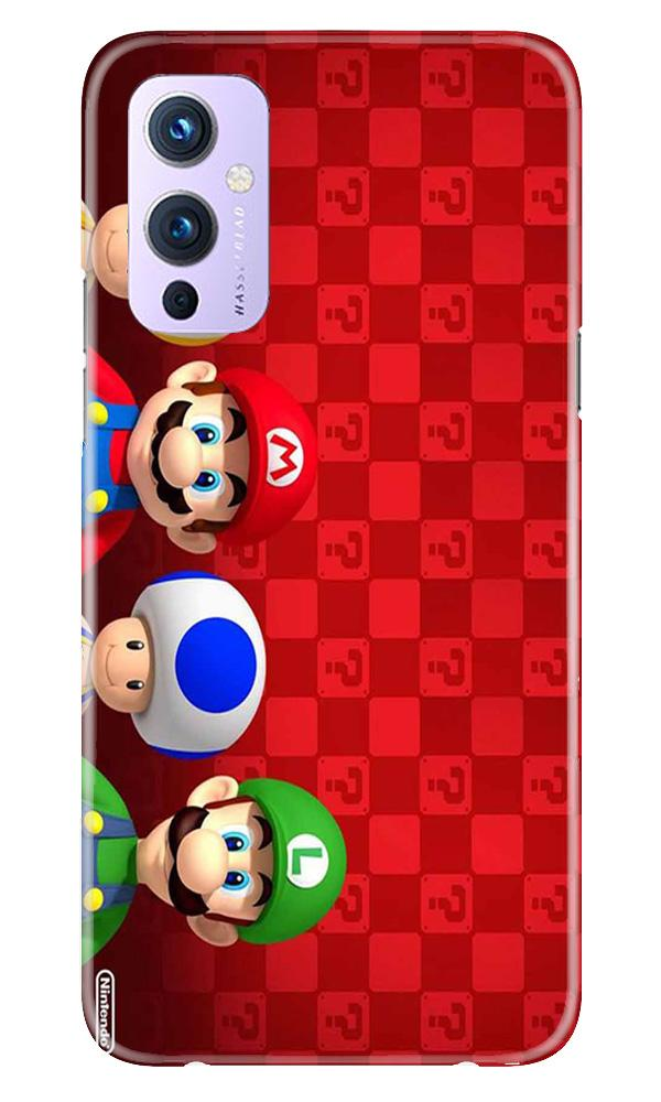 Mario Mobile Back Case for OnePlus 9 (Design - 337)