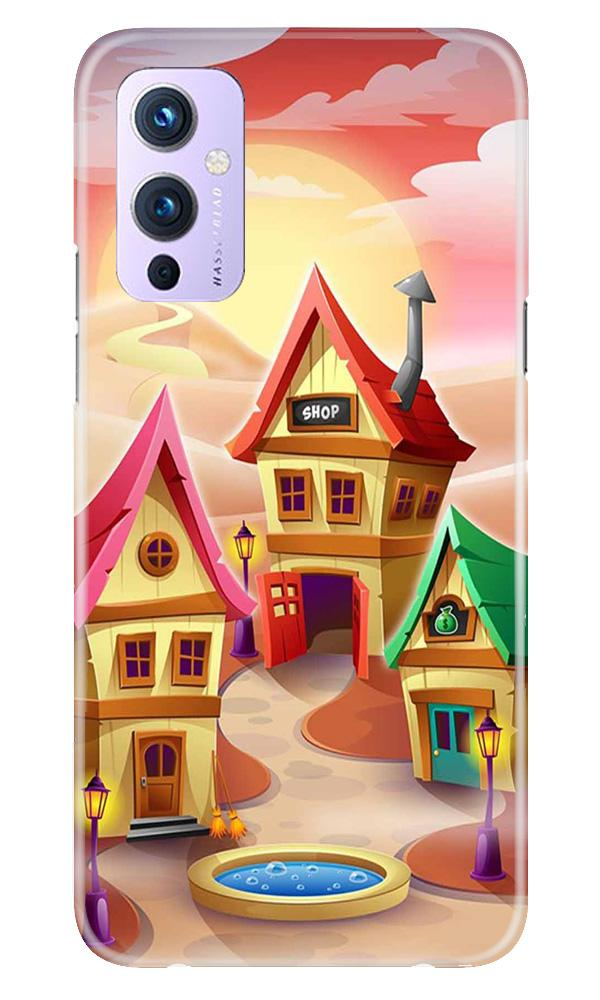 Sweet Home Mobile Back Case for OnePlus 9 (Design - 338)