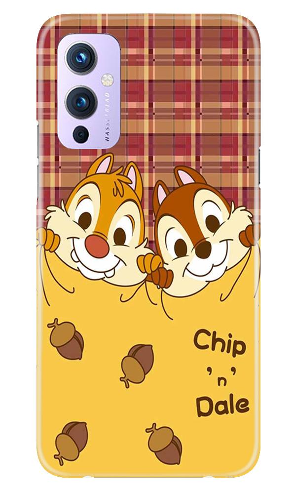 Chip n Dale Mobile Back Case for OnePlus 9 (Design - 342)