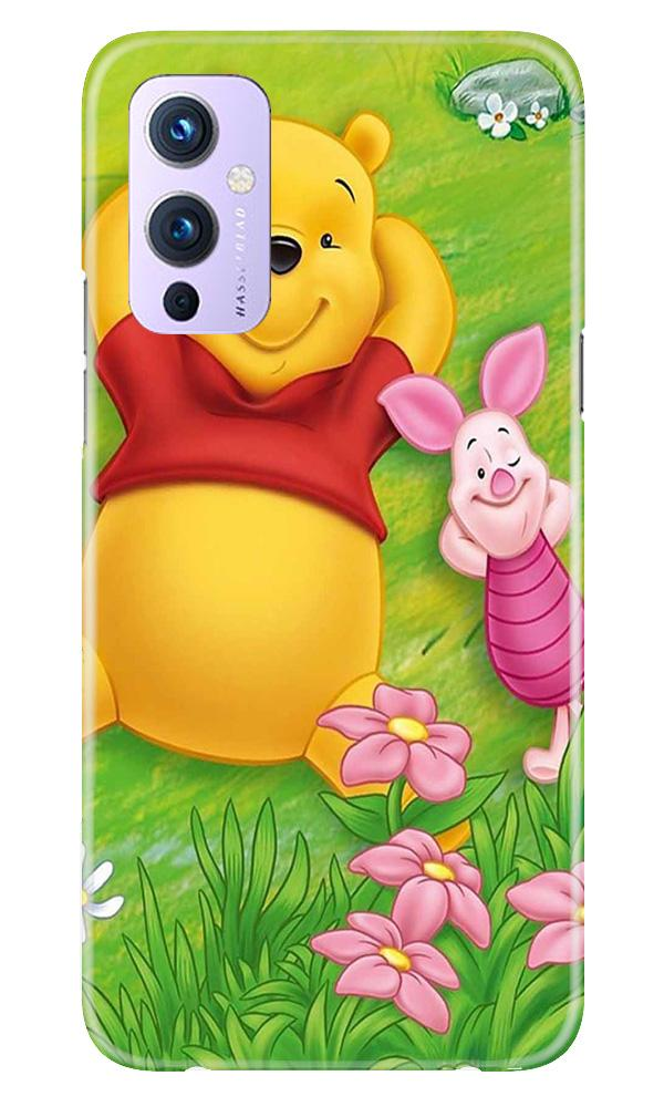 Winnie The Pooh Mobile Back Case for OnePlus 9 (Design - 348)