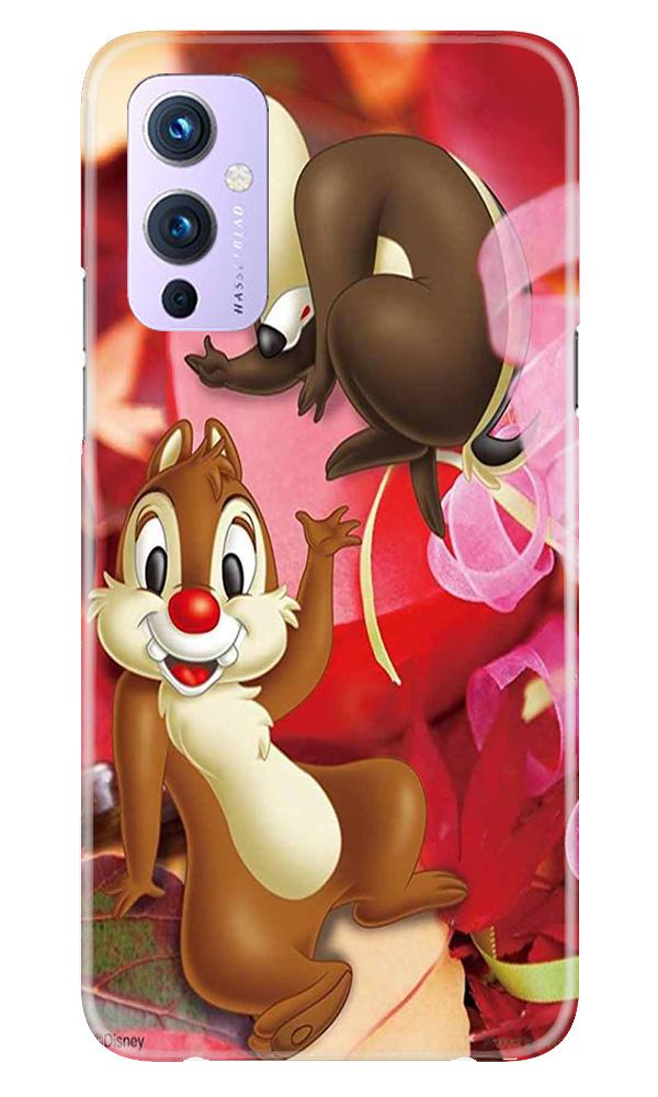 Chip n Dale Mobile Back Case for OnePlus 9 (Design - 349)