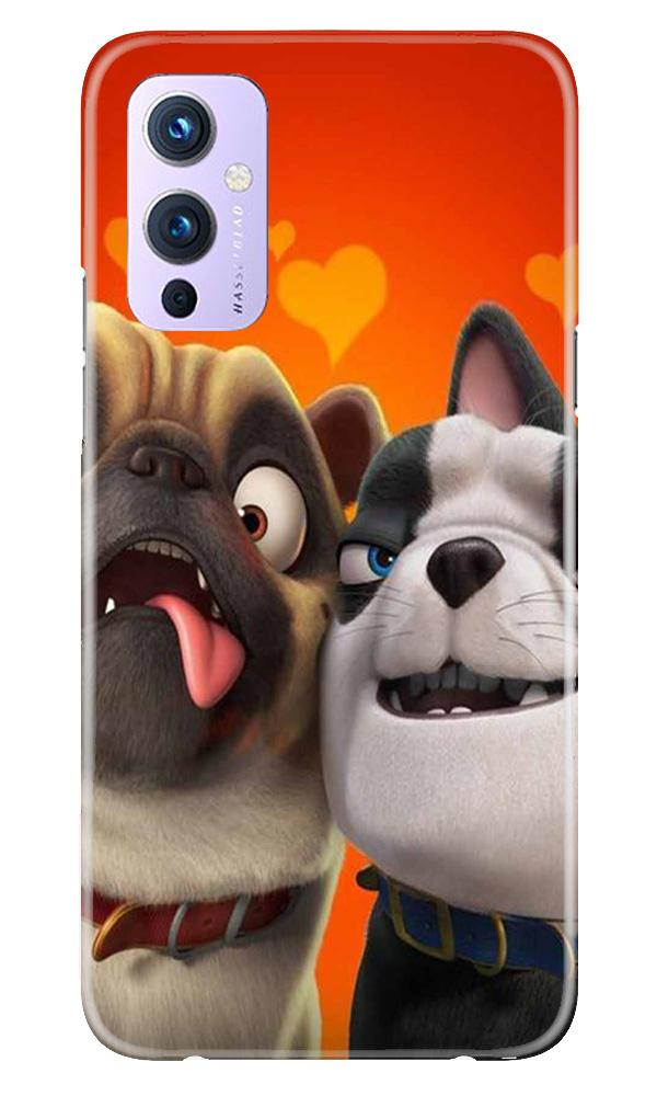 Dog Puppy Mobile Back Case for OnePlus 9 (Design - 350)