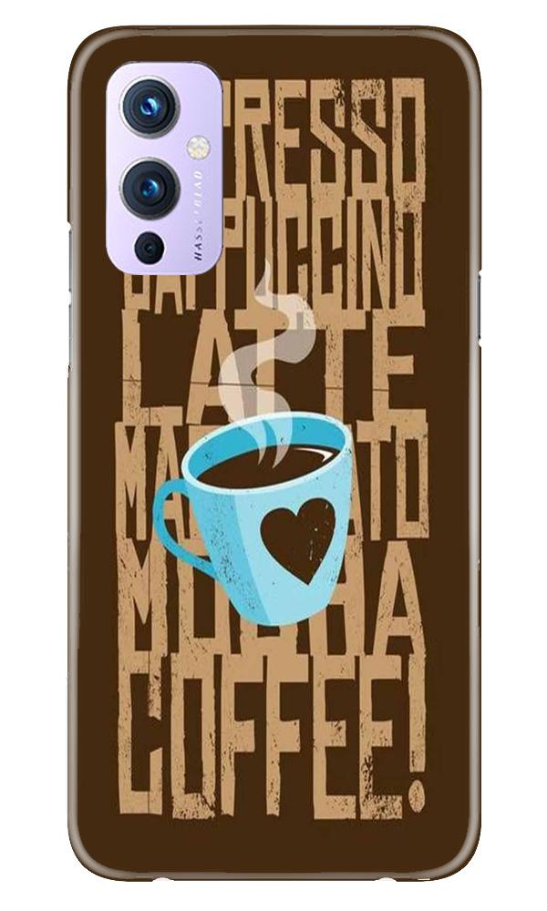 Love Coffee Mobile Back Case for OnePlus 9 (Design - 351)