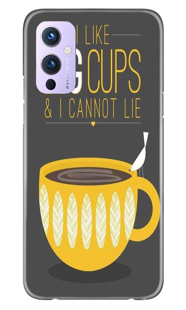 Big Cups Coffee Mobile Back Case for OnePlus 9 (Design - 352)