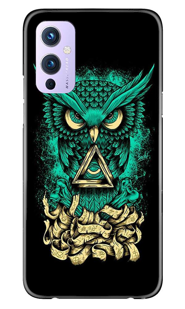 Owl Mobile Back Case for OnePlus 9 (Design - 358)