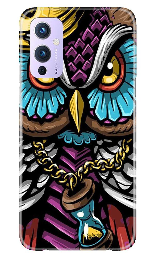 Owl Mobile Back Case for OnePlus 9 (Design - 359)