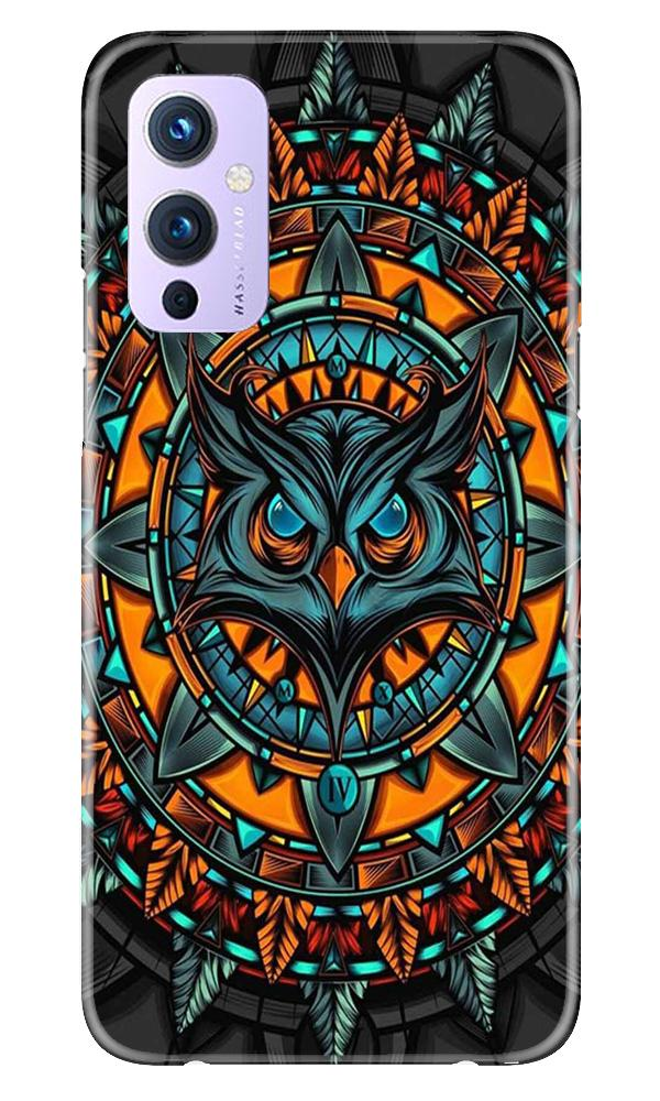 Owl Mobile Back Case for OnePlus 9 (Design - 360)