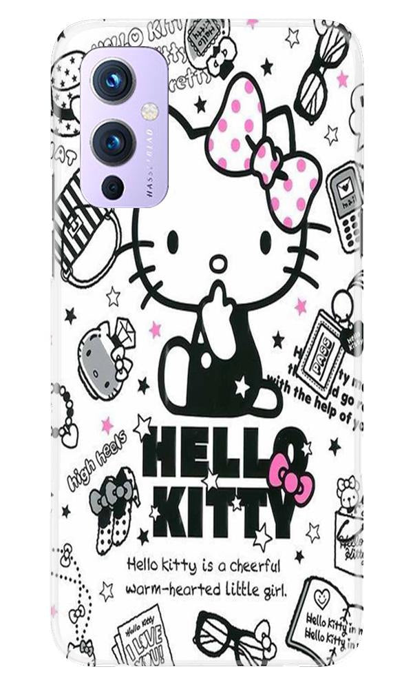 Hello Kitty Mobile Back Case for OnePlus 9 (Design - 361)