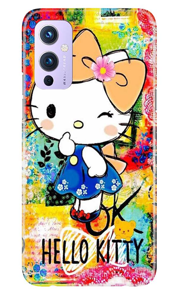 Hello Kitty Mobile Back Case for OnePlus 9 (Design - 362)