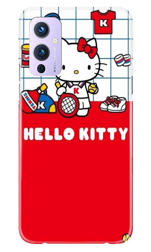Hello Kitty Mobile Back Case for OnePlus 9 (Design - 363)