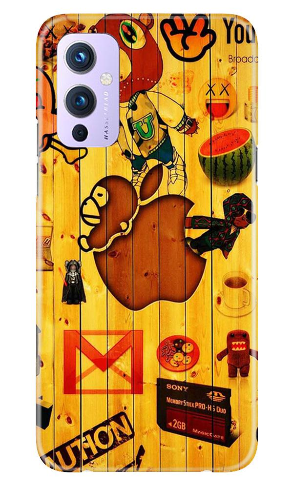 Wooden Texture Mobile Back Case for OnePlus 9 (Design - 367)