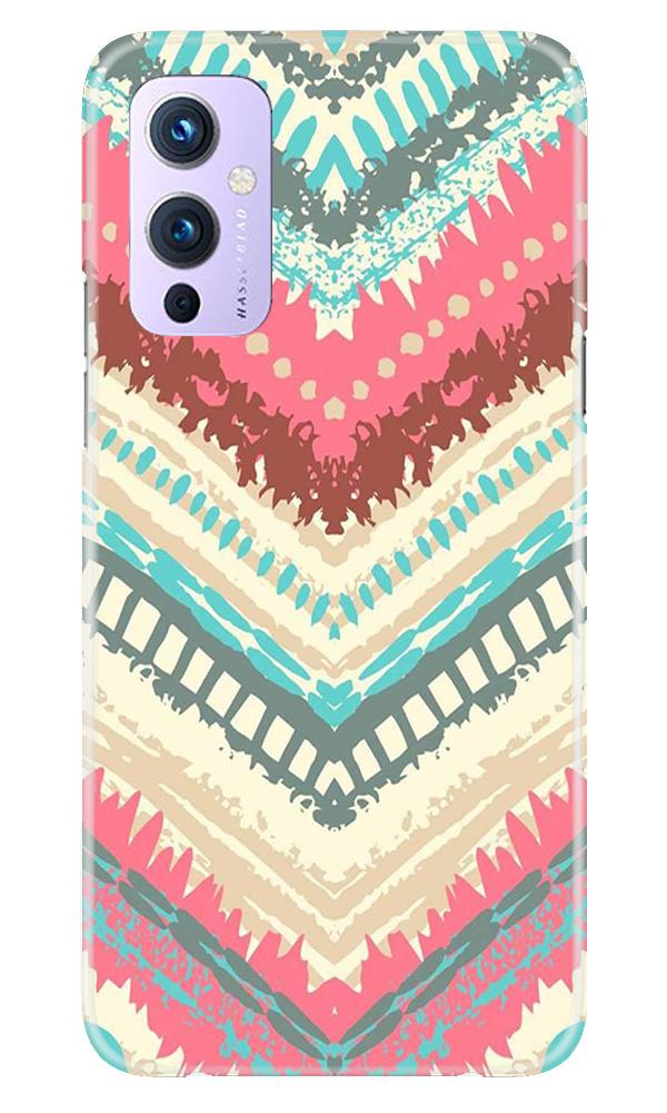 Pattern Mobile Back Case for OnePlus 9 (Design - 368)