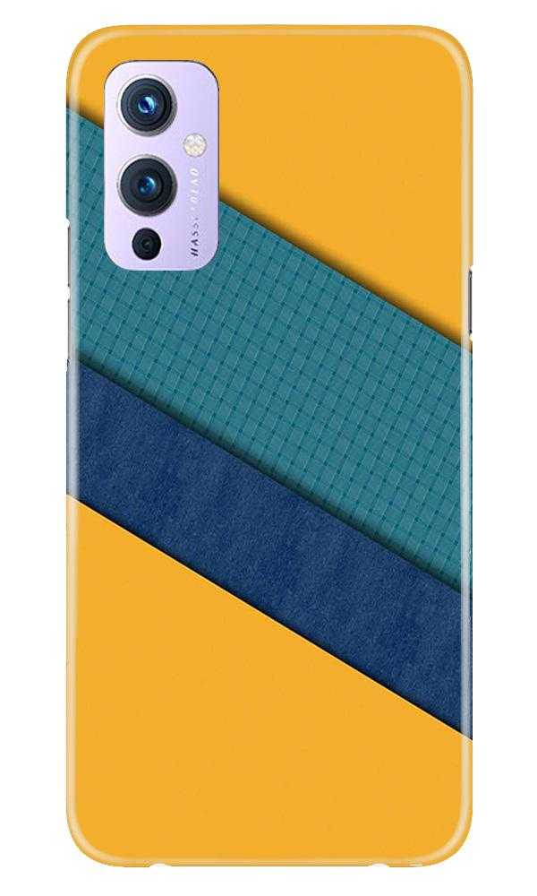 Diagonal Pattern Mobile Back Case for OnePlus 9 (Design - 370)